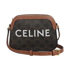 CELINE思琳女士小号标志印花相机包