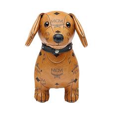 MCM小狗玩偶棕色