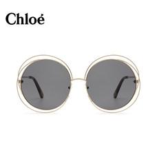 Chloe蔻依太阳眼镜墨镜CE114SD蓝色—棕色62