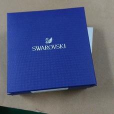 Swarovski大号黑天鹅玫瑰金色水晶女锁骨项链5204134